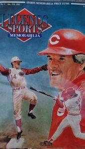 Legends sports memorabilia